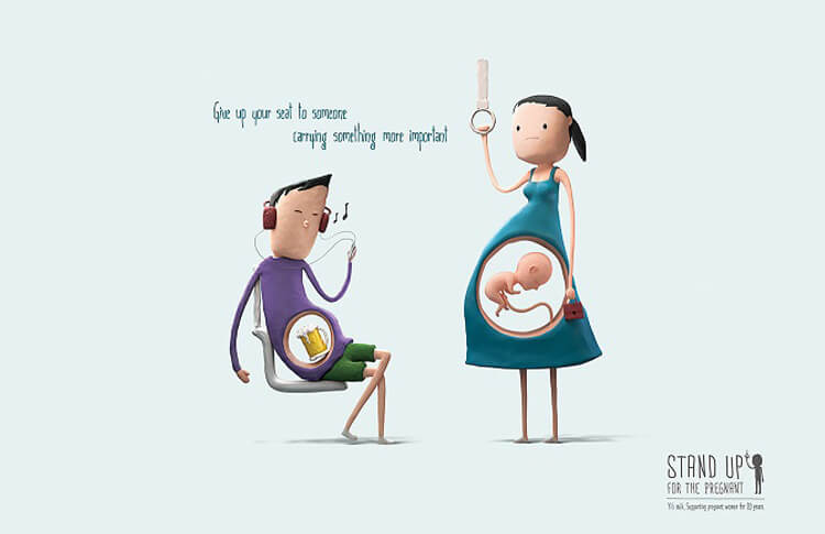 These Adorable Ads Are A Kind Reminder To Those Who Are