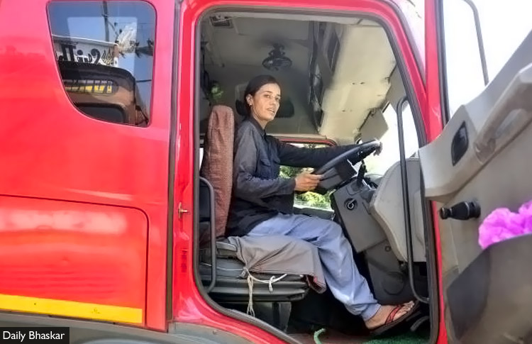 This 40 Y O Female Truck Driver Holds Degrees In Law