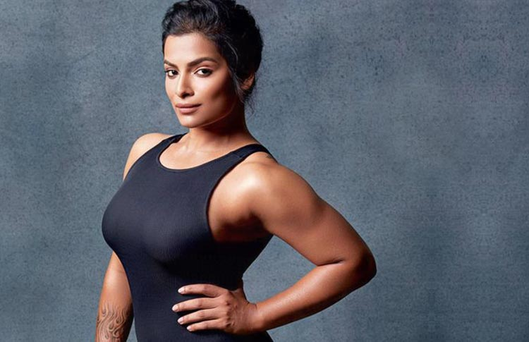 Once Drugged Amp Wasted Nilparna Sen Builds Her Muscles To