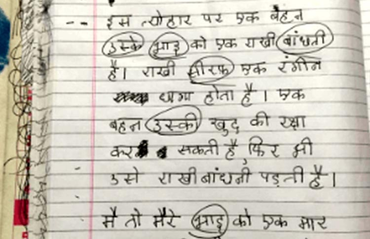 Graphic Design Essay Remember Writing Essays On Myself Cow Diwali Raksha Bandhan Etc In  School Home Is Where The Heart Is Essay also Example Of Character Analysis Essay A  Yo Girl Wrote The Most Fitting Raksha Bandhan Essay That  Essay On The Crucible By Arthur Miller
