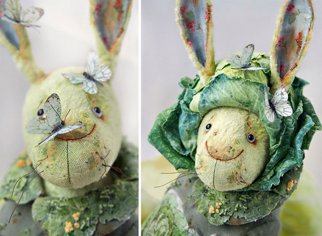 vegetable Easter dolls