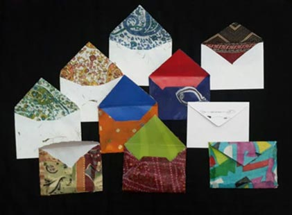 Paper & Cloth Envelopes