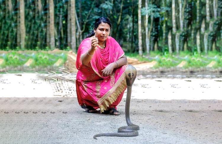 Lonely indian women