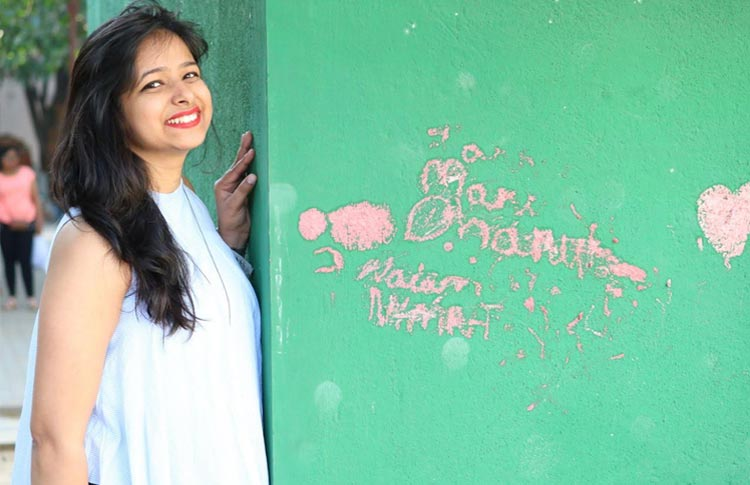 Through 'Calm Insights' Aditi aims to motivate everyone and wants to teach them to cherish life no matter what.